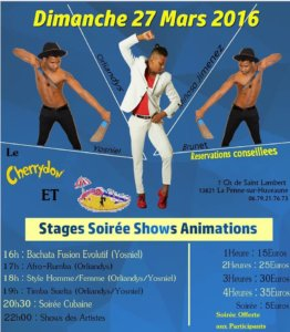 27 Mars Stages, Soirée, Show, Animation